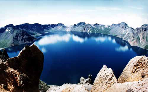 Changbai Mountain Crater