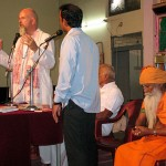 Speech: Ganganath Speaks at Feeding of the Poor in Bangalore