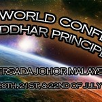 The 5th World Conference on Siddhar Principals – July 20-22, 2012